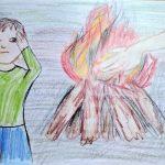 Kilian Holyszewski- Für jemanden die Hand ins Feuer legen.